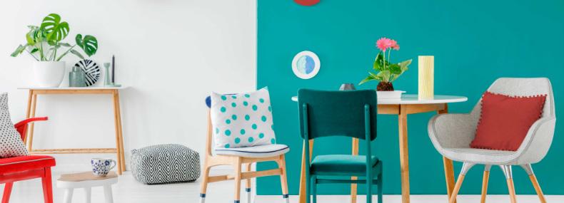 4 consejos prácticos para decorar con colores llamativos
